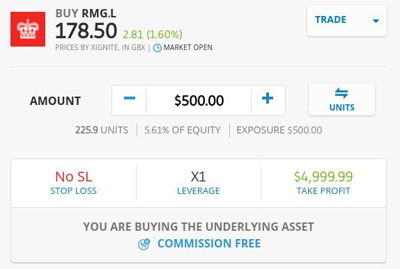 Buy FTSE 100 shares on eToro