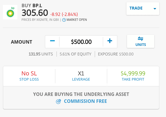 How to buy shares on eToro