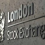 In this photo London Stock Exchange logo.