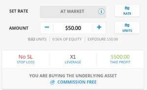 Trade forex on eToro