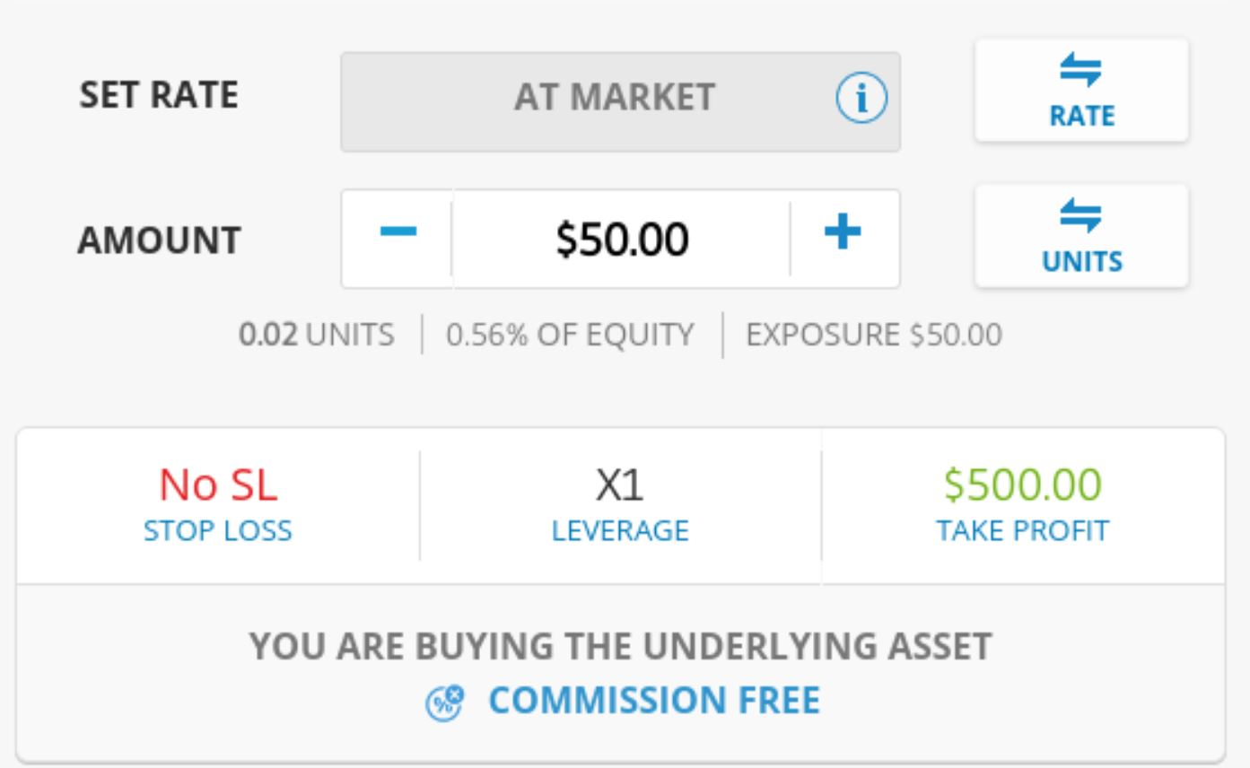 Day trading on eToro