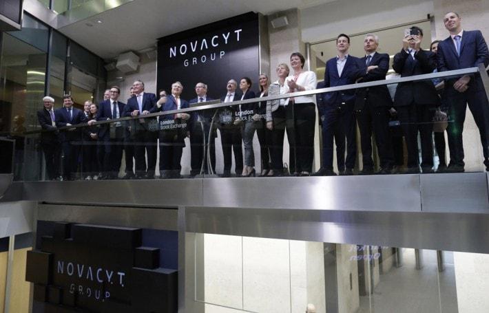 Novacyt lists on Aim 2017