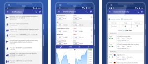 The Plus500 mobile investment app