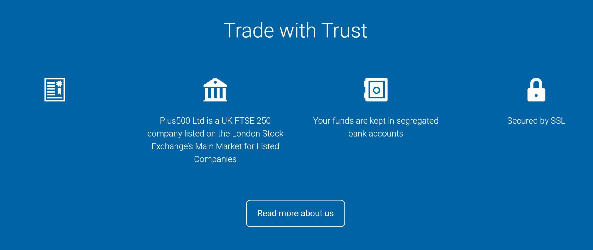 Plus500 is regulated by the FCA and publicly traded.