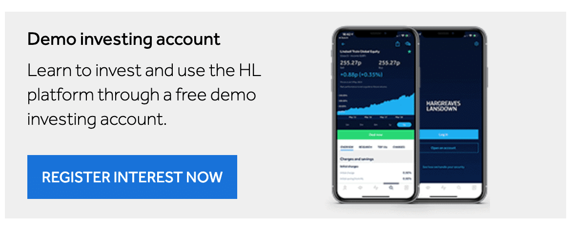 Hargreaves Demo Investing Account