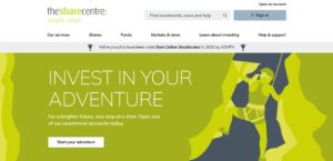 The Share Centre share dealing review