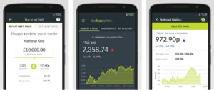 The Share Centre's mobile investment app