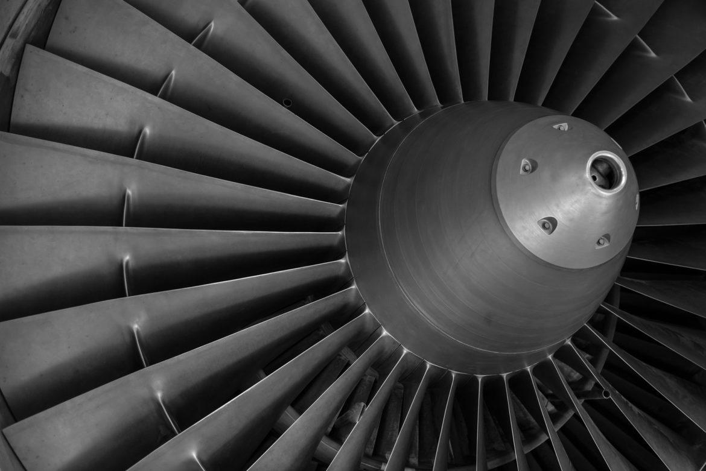 Roll-Royce shares - aero engnine turbine