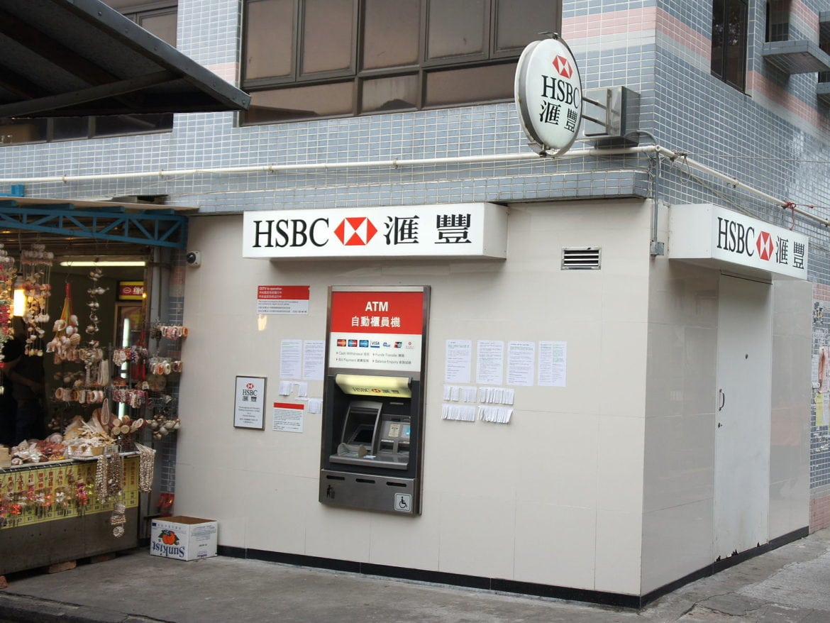hsbc bank in US-China crossfire