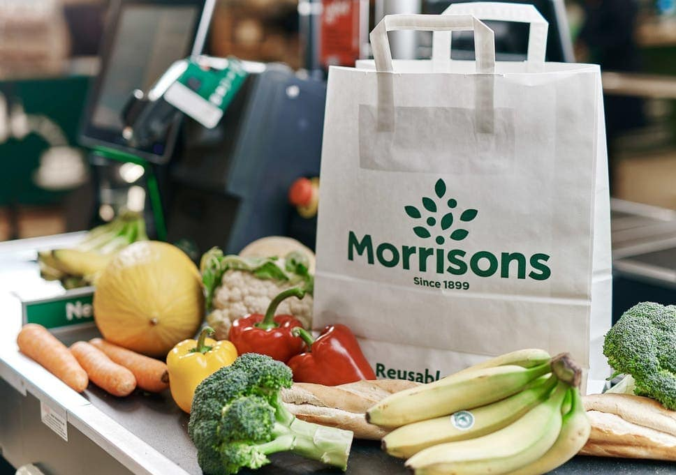 Morrisons produces much of its own fruits and vegetables.