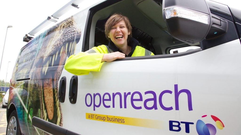 BT Openreach disruptions