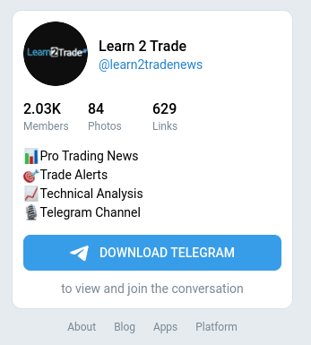 Learn 2 Trade Signals