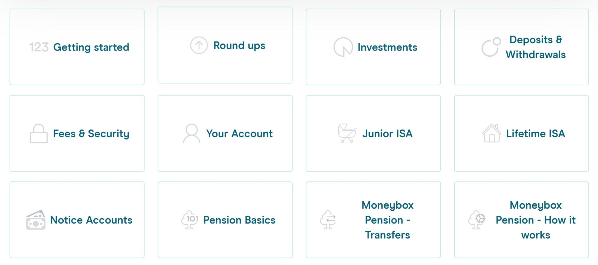 Moneybox Help Centre