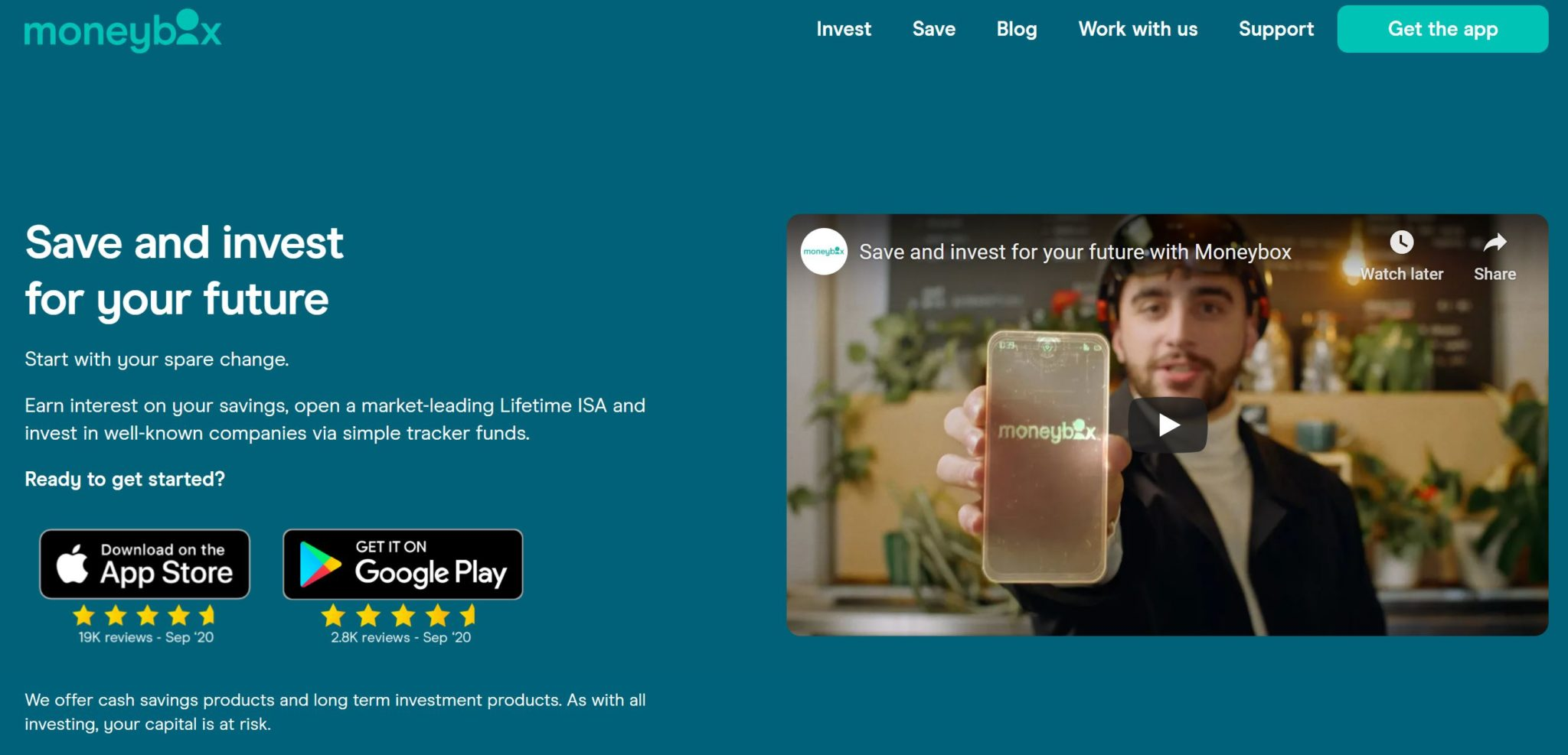 Moneybox app review
