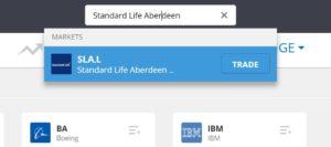 Search Standard Life Aberdeen eToro