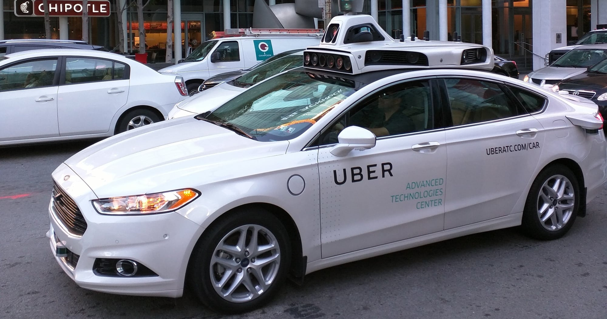 Uber autonomous vehicle