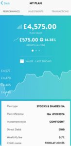 Wealthify Mobile Investment App