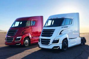 Nikola Two trucks