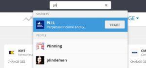 Buy PLI income fund on eToro
