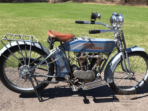 Harley-Davidson Vintage Motorcycle