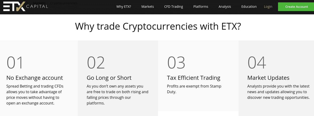 ETX CAPITAL cryptocurrencies