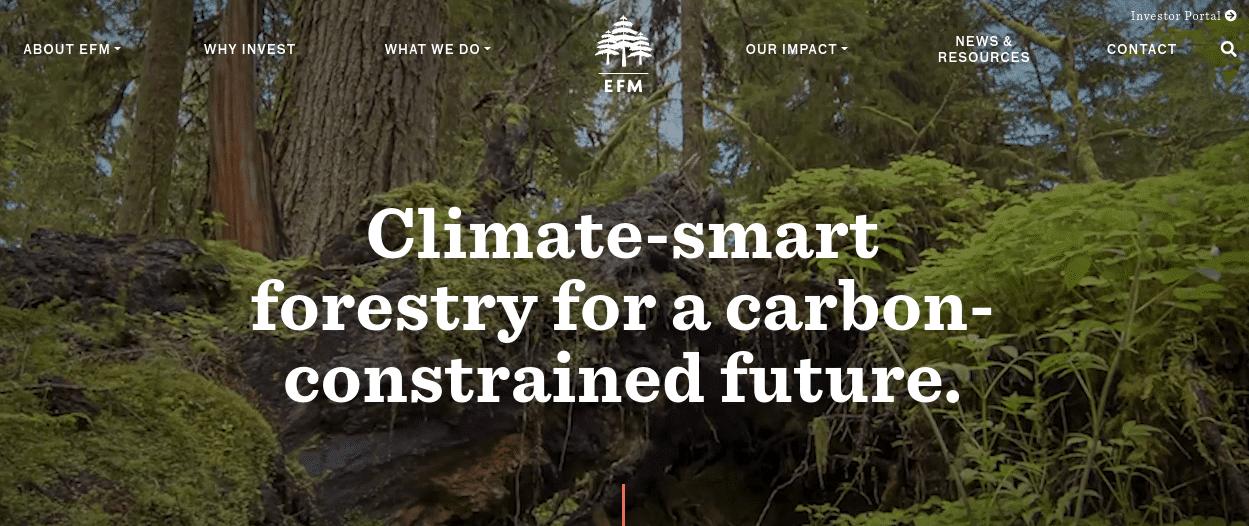 Ecotrust Forests Management (EFM)