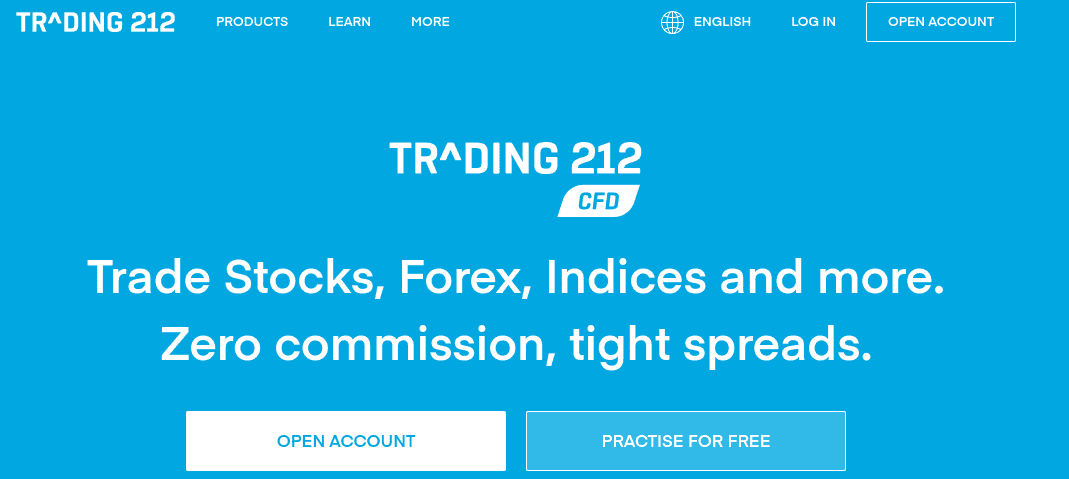 CFDs at Trading 212