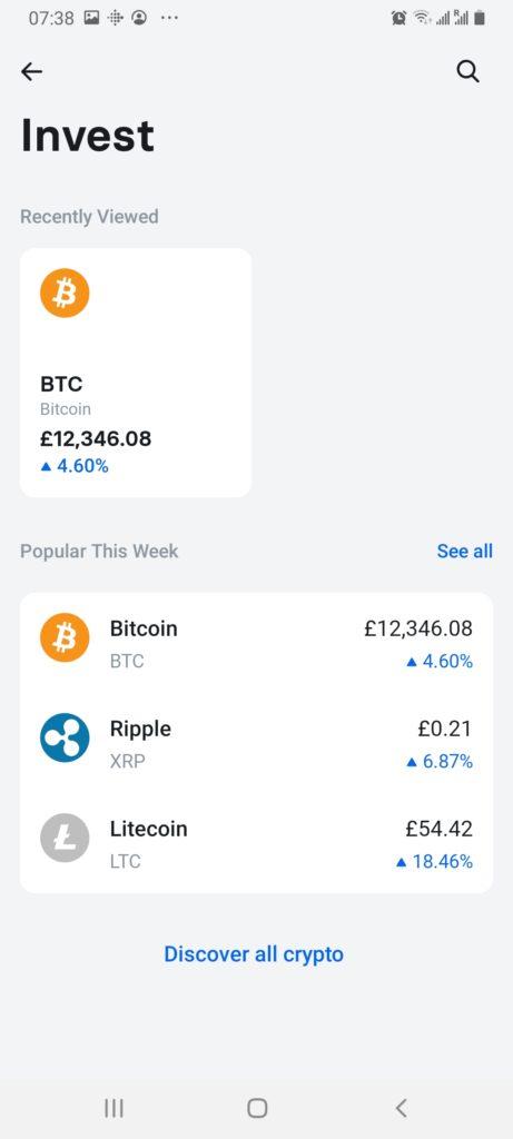 revolut cryptocurrencies