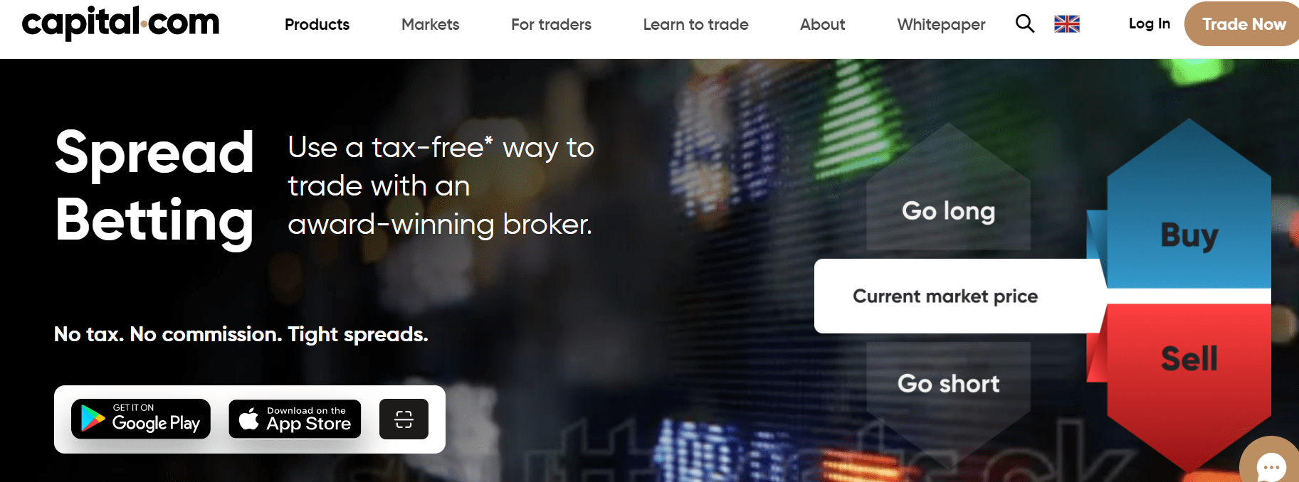 spread betting at capital