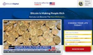 Bitcoin Digital Homepage