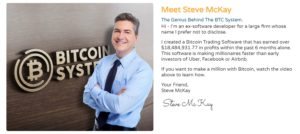 Bitcoin System Founder