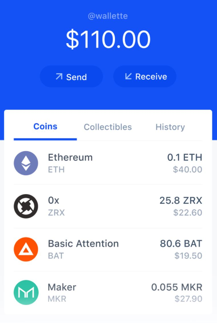 Coinbase Mobile Bitcoin Wallet
