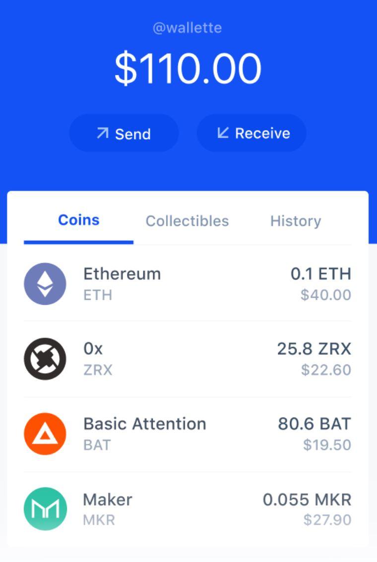 Coinbase Mobile Bitcoin Wallet