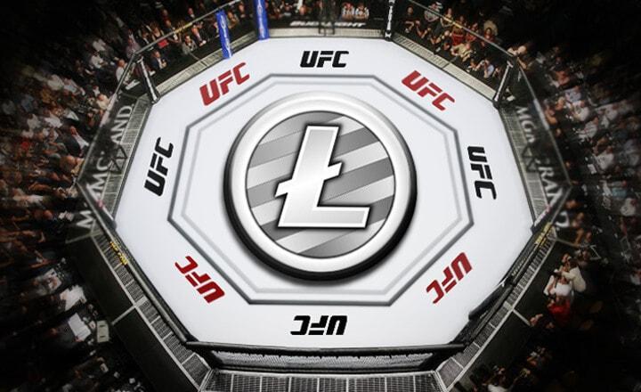 litecoin partnership UFC