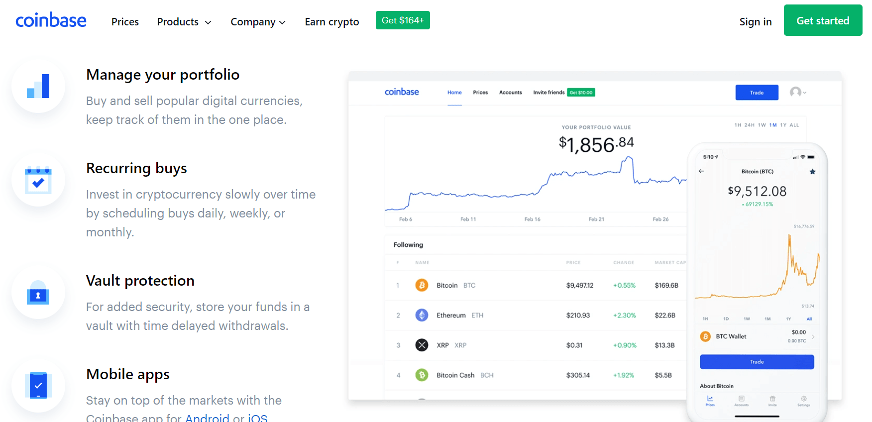 coinbase user friendly