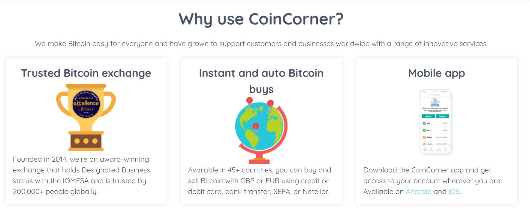 coincorner wallet