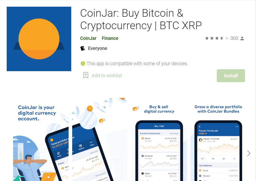 coinjar app