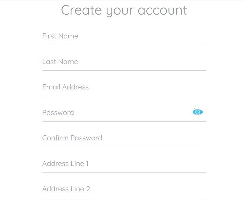 create account at coincorner