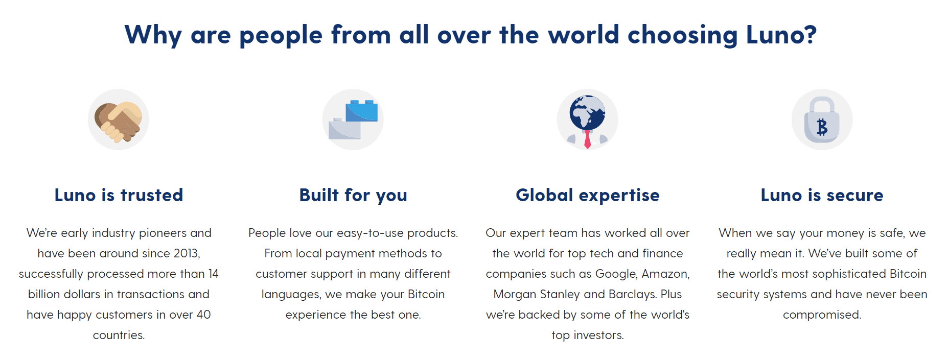 why use luno exchange
