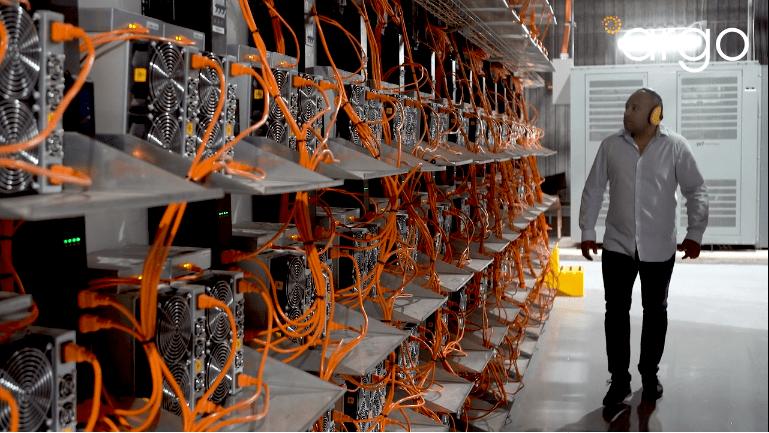 argo blockchain mining facility