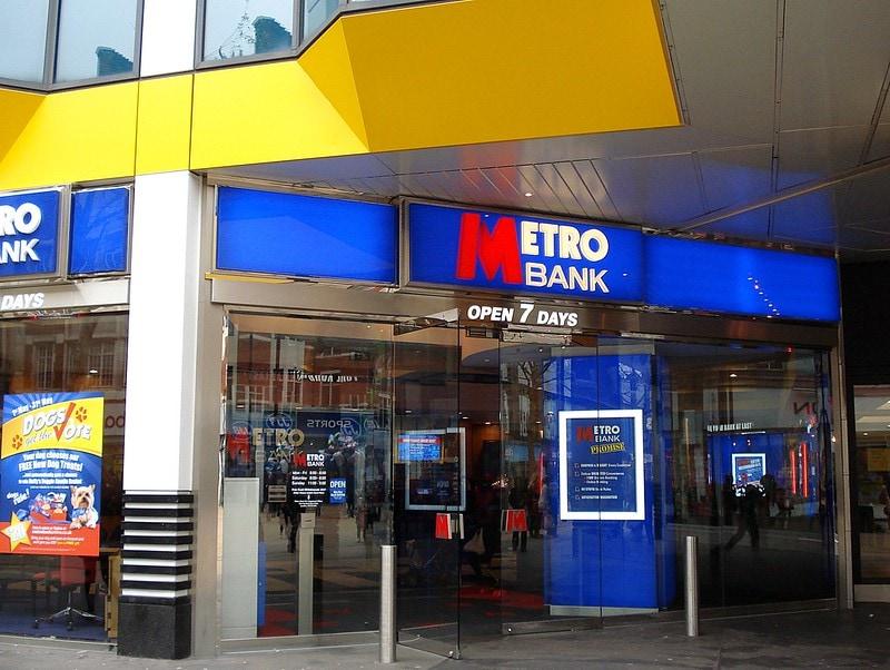 metrobank storefront