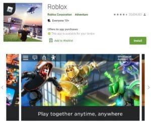 Roblox on Google Play