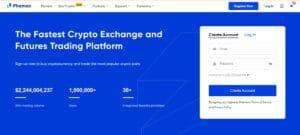 Phemex Cryptocurrency Exchange