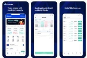 Phemex Mobile App