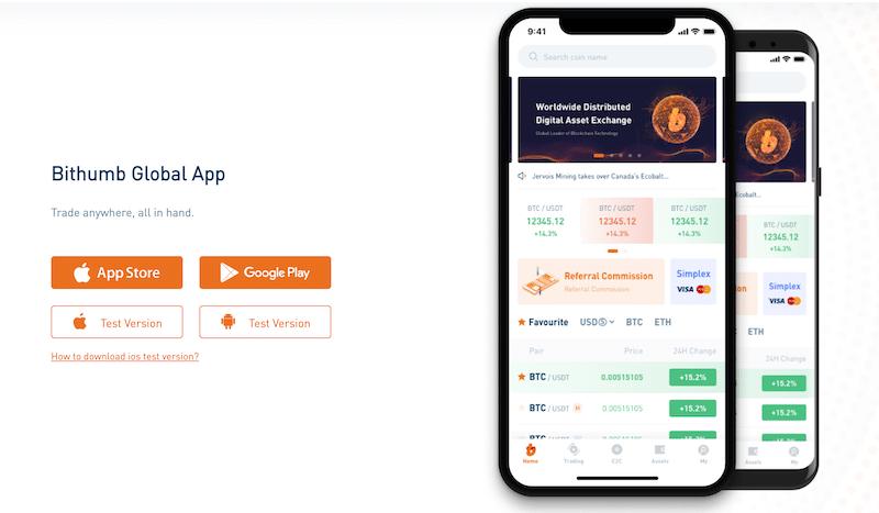 Bithumb Mobile App