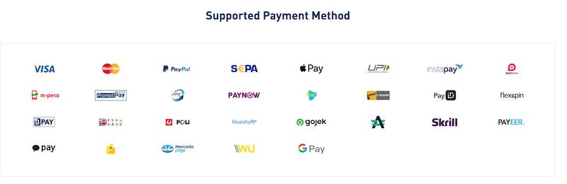 Bithumb payment methods