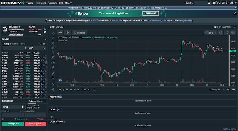 Bitfinex buy cryptocurrency