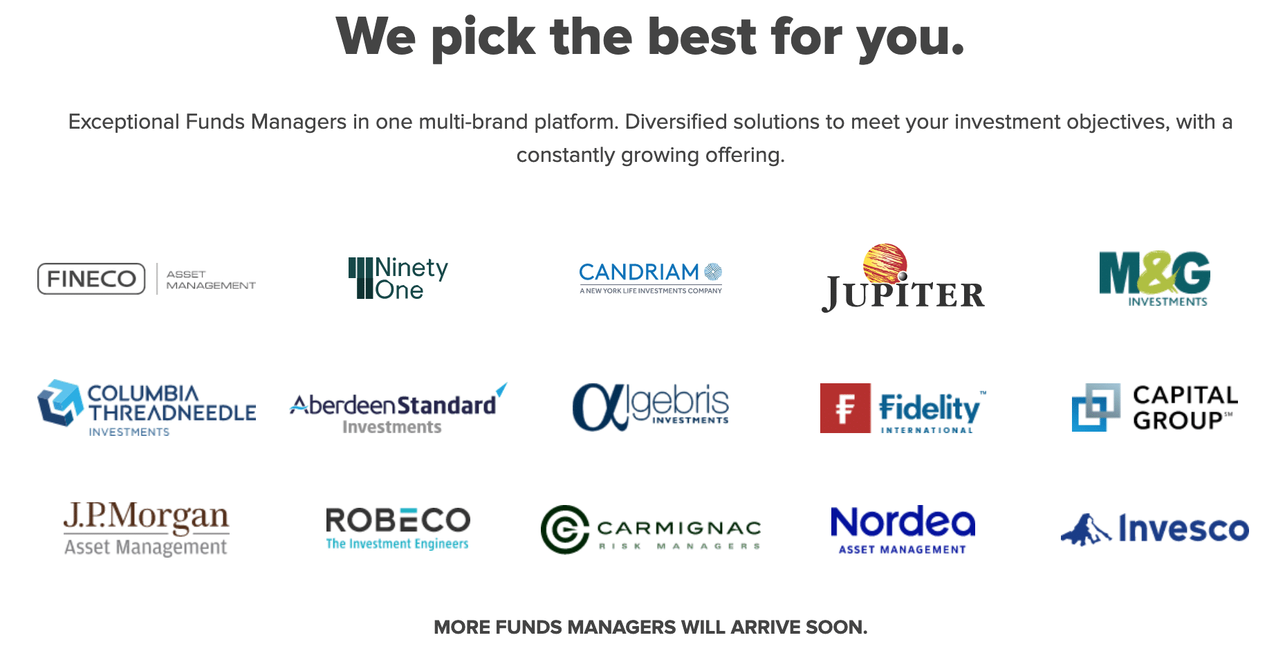 fineco invest in fixed income funds