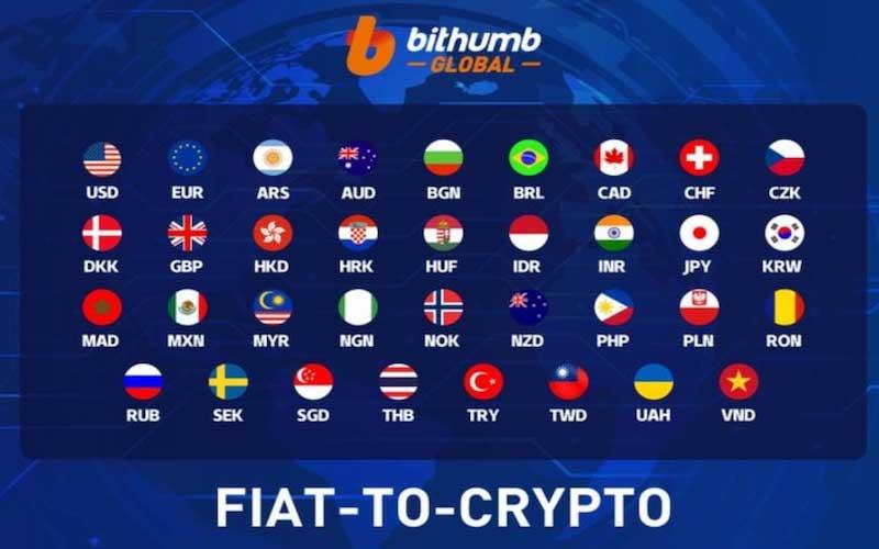 Bithumb fiat currencies